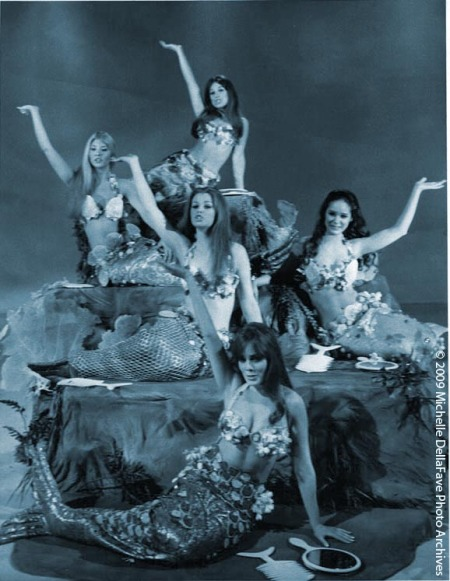 Golddiggers as Mermaids (for GoldsAndDings)Colorized