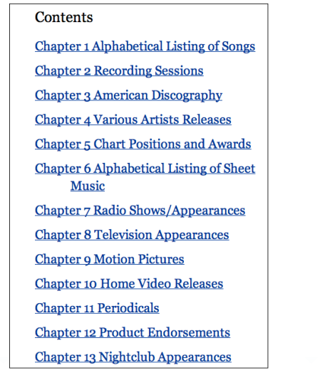 Chintala Table of Contents b